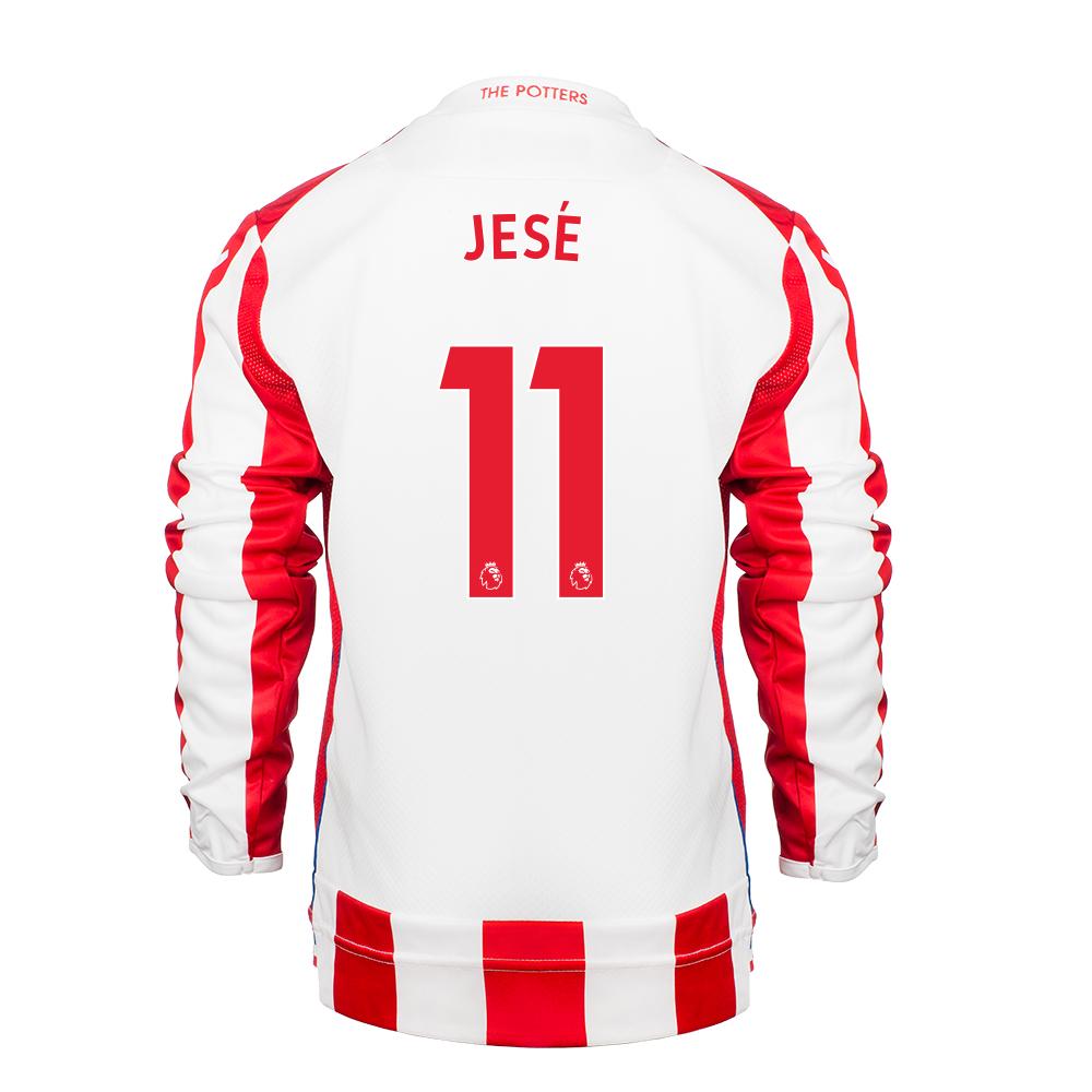 2017/18 Junior Home LS Shirt - Jese