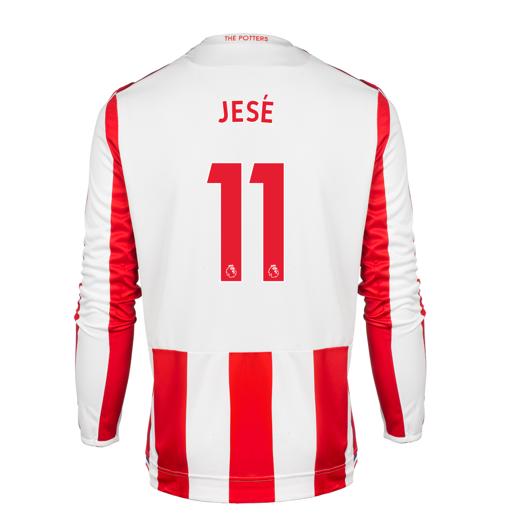 2017/18 Adult Home LS Shirt - Jese