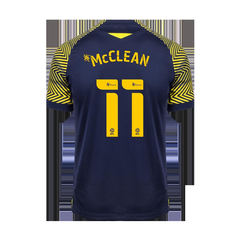 2020/21 Adult Away SS Shirt - McClean