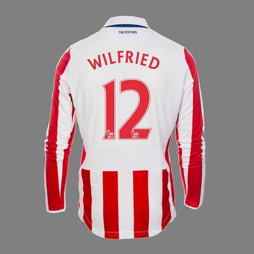 2016-17 Adult Home LS Shirt - Wilfried