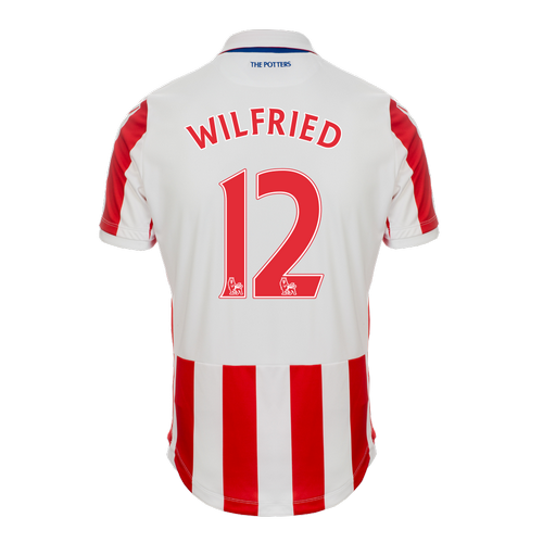 2016-17 Adult Home SS Shirt - Wilfried