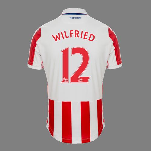 2016-17 Junior Home SS Shirt - Wilfried