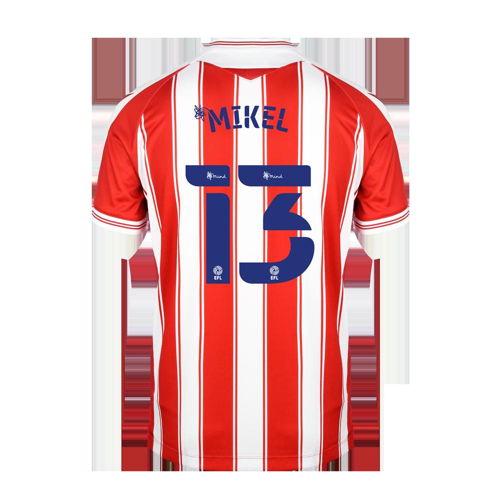 2020/21 Junior Home SS Shirt - Mikel