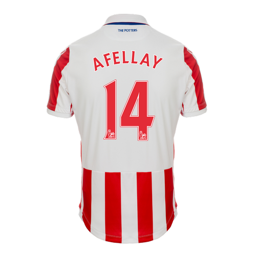 2016-17 Ladies Fit SS Home Shirt - Afellay