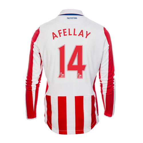 2016-17 Adult Home LS Shirt - Afellay