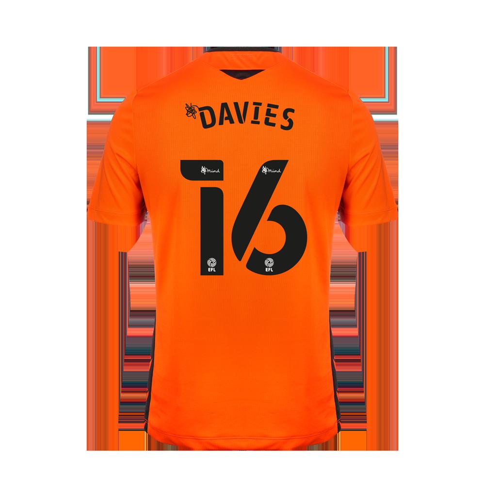 2020/21 Junior SS Away GK Shirt - Davies