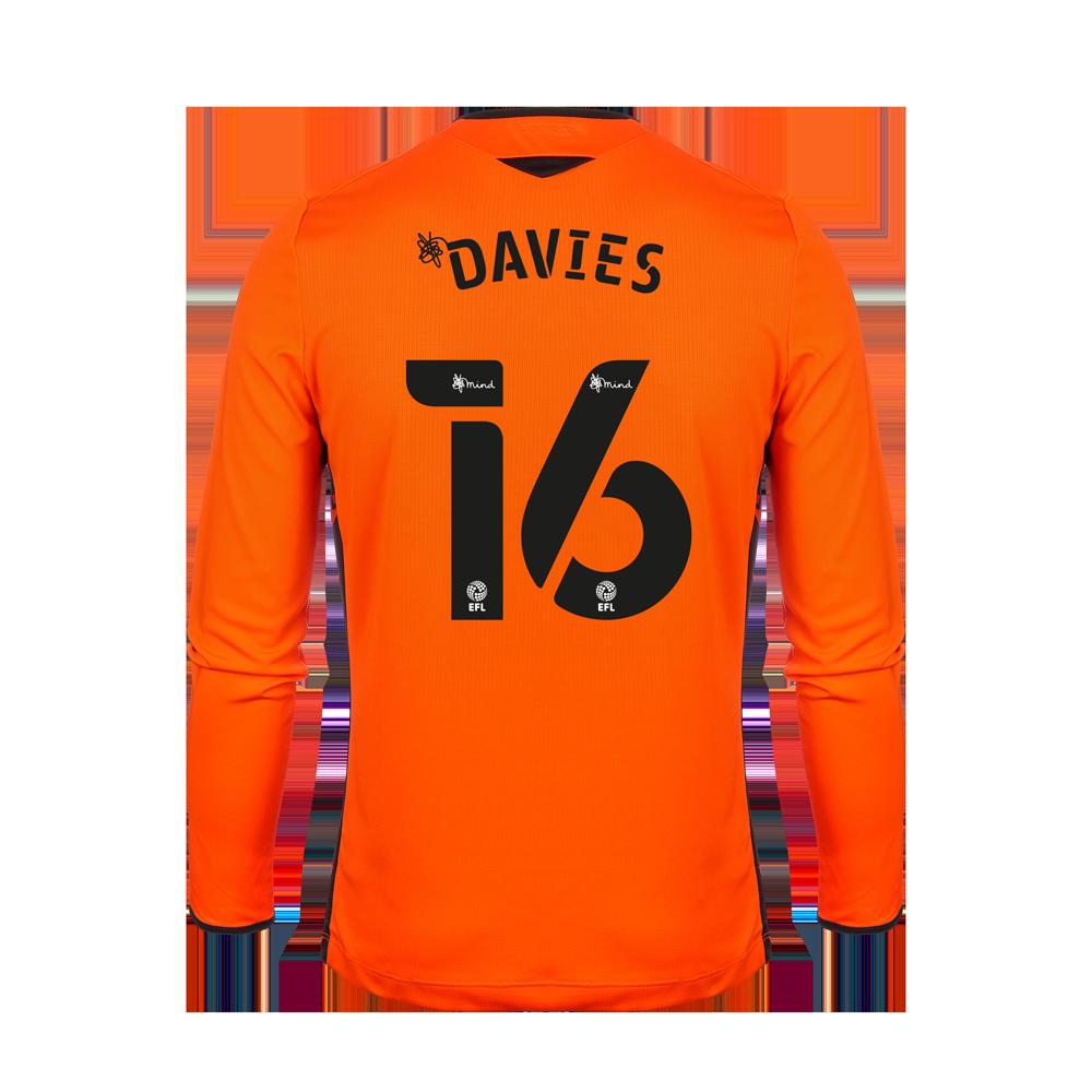 2020/21 Junior Away GK Shirt - Davies
