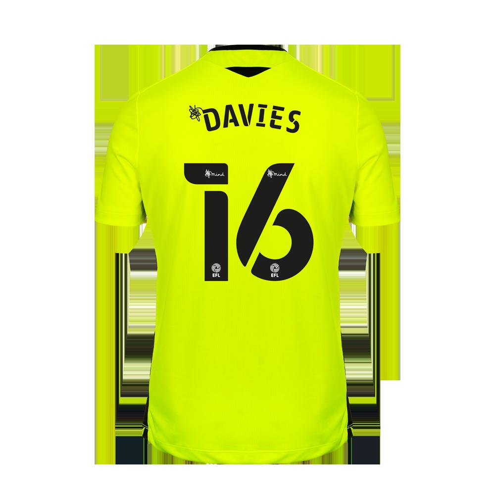 2020/21 Junior SS Home GK Shirt - Davies