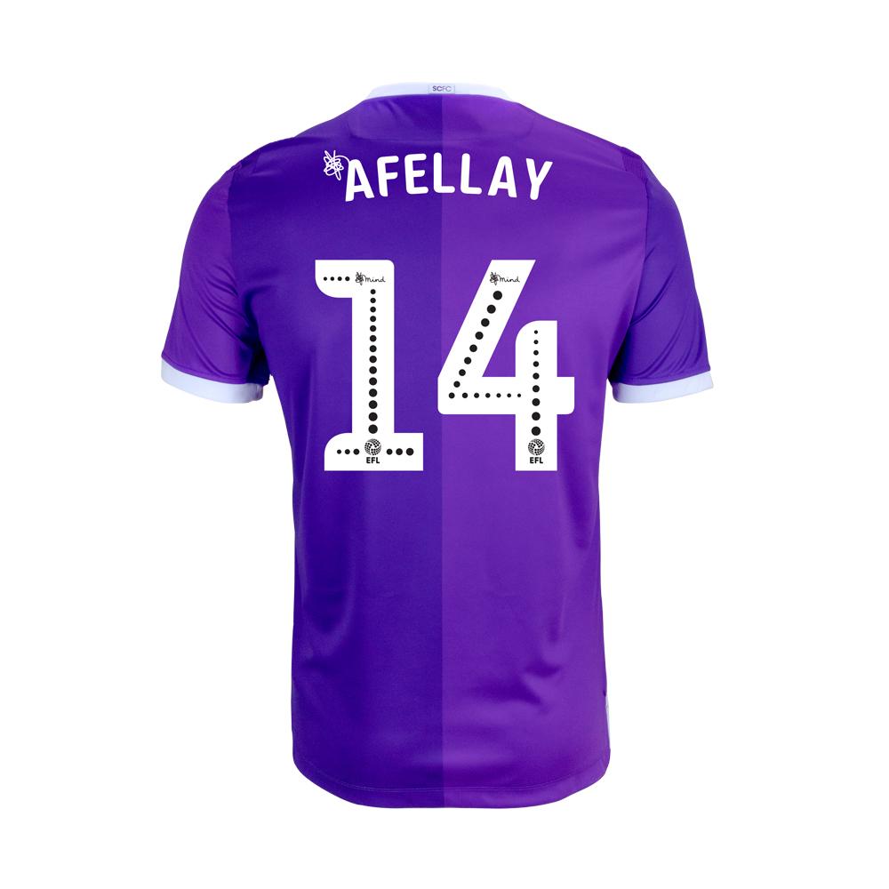 2018/19 Junior Away SS Shirt - Afellay