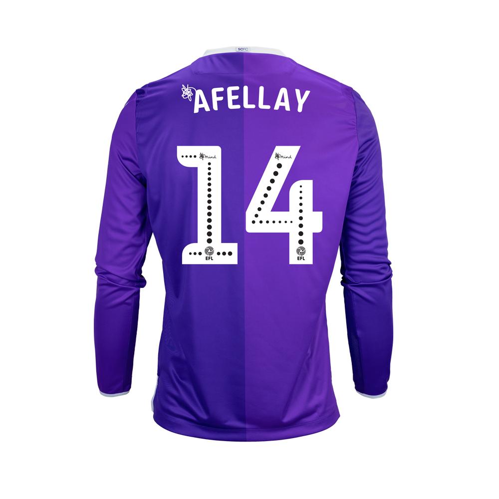 2018/19 Junior Away LS Shirt - Afellay