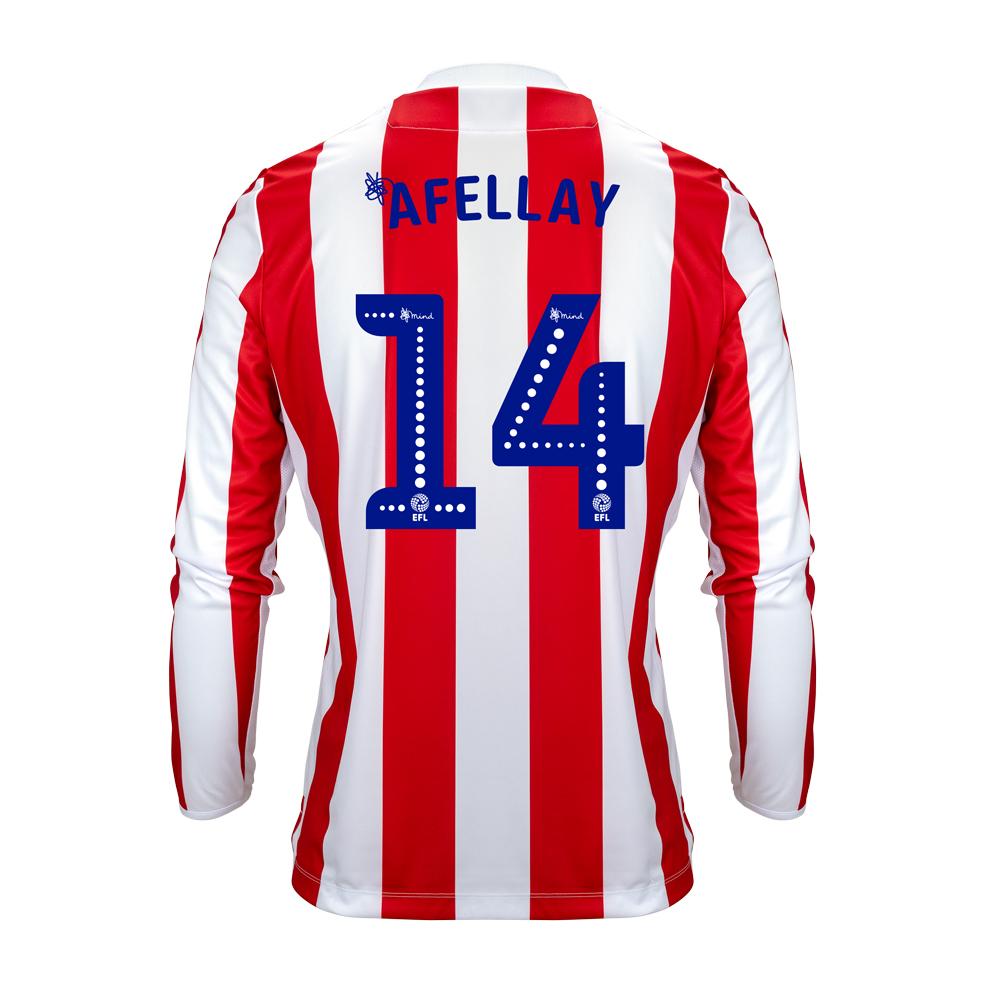 2018/19 Junior Home LS Shirt - Afellay
