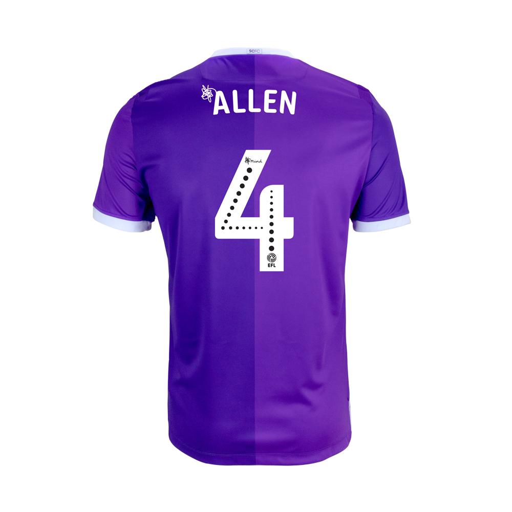 2018/19 Adult Away SS Shirt - Allen