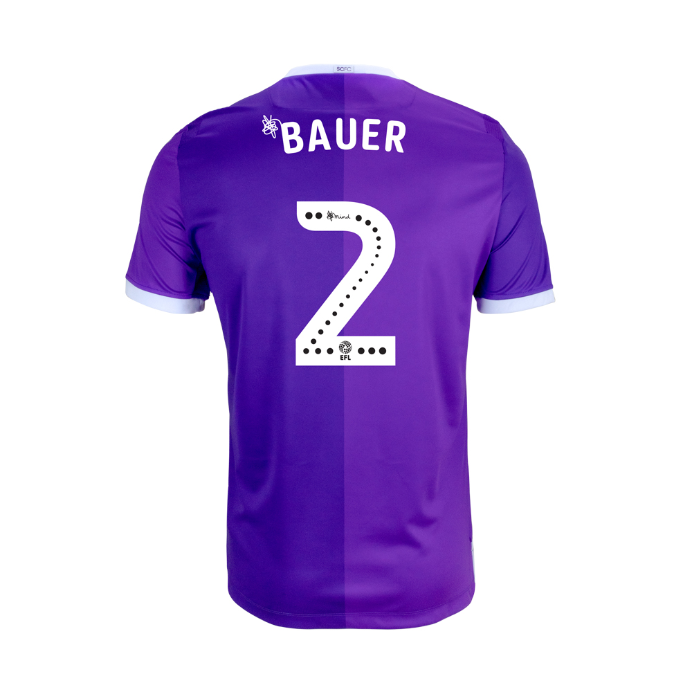 2018/19 Junior Away SS Shirt - Bauer