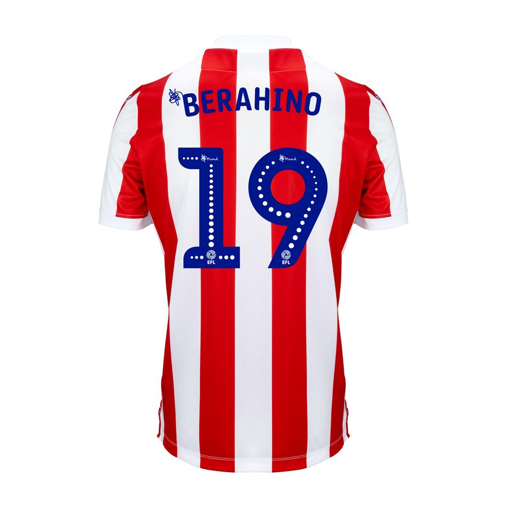 2018/19 Junior Home SS Shirt - Berahino
