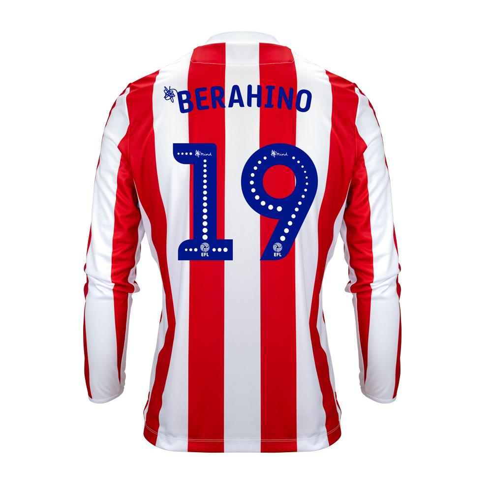2018/19 Junior Home LS Shirt - Berahino