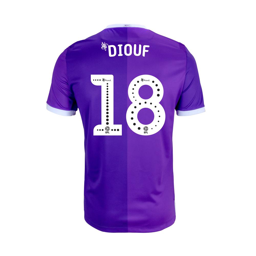 2018/19 Junior Away SS Shirt - Diouf