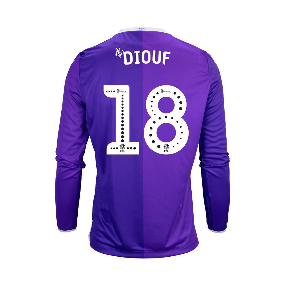 2018/19 Junior Away LS Shirt - Diouf