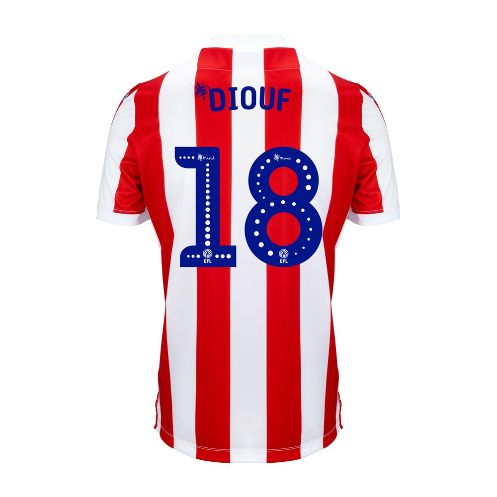 2018/19 Junior Home SS Shirt - Diouf