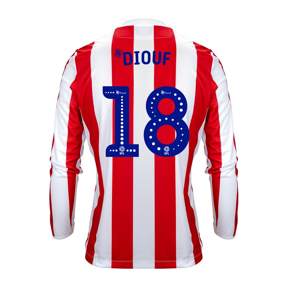 2018/19 Junior Home LS Shirt - Diouf
