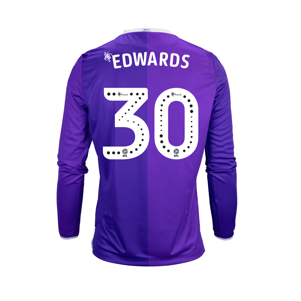 2018/19 Junior Away LS Shirt - Edwards
