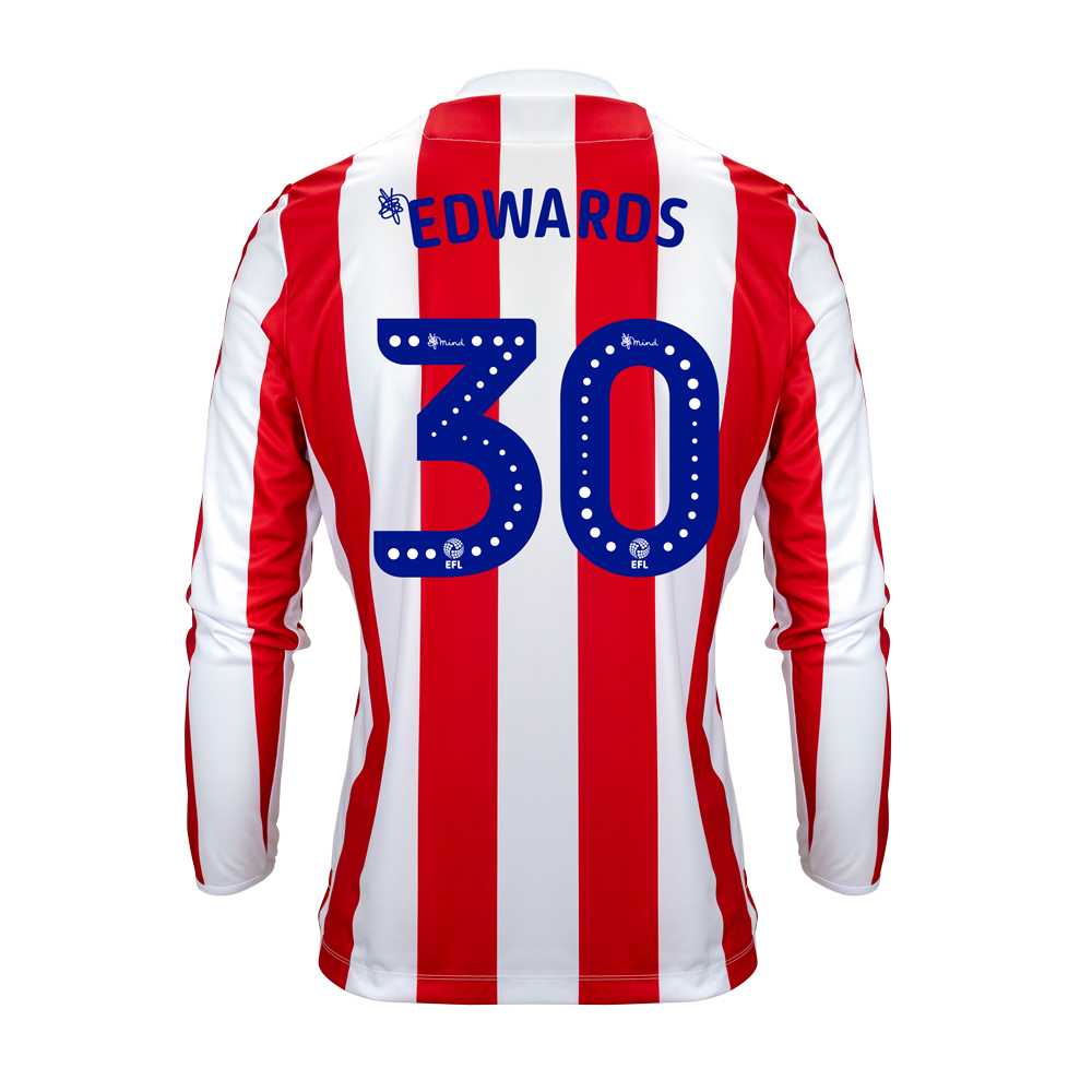 2018/19 Adult Home LS Shirt - Edwards