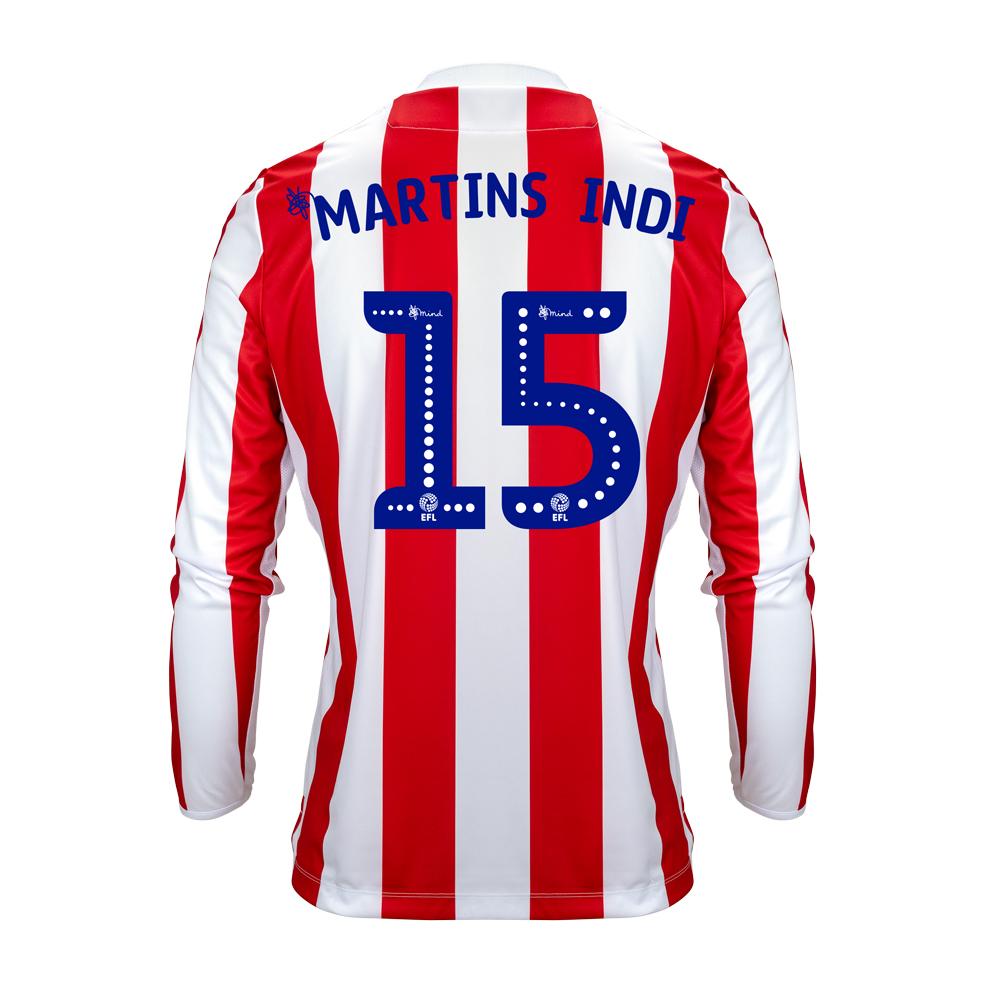 2018/19 Adult Home LS Shirt - Martins Indi