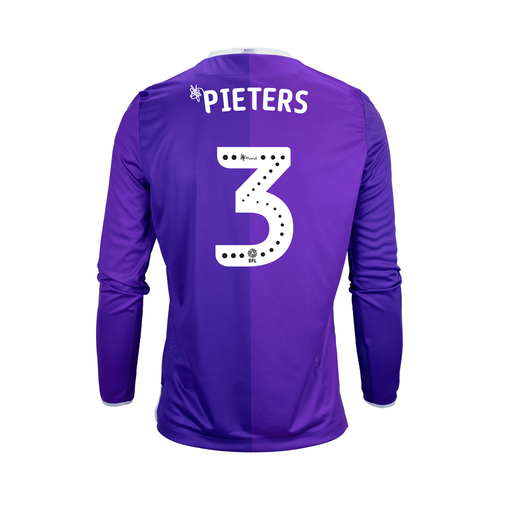 2018/19 Junior Away LS Shirt - Pieters