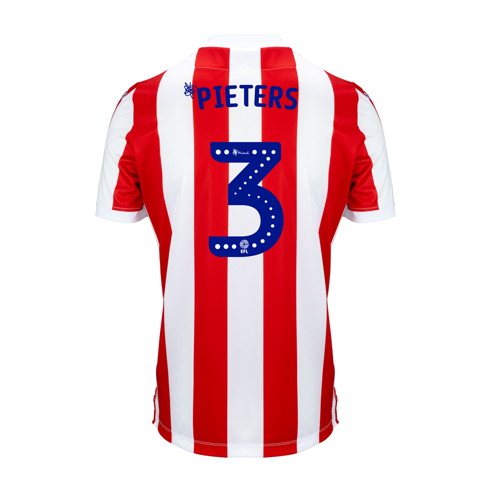 2018/19 Adult Home SS Shirt - Pieters