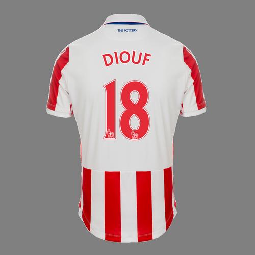 2016-17 Junior Home SS Shirt - Diouf