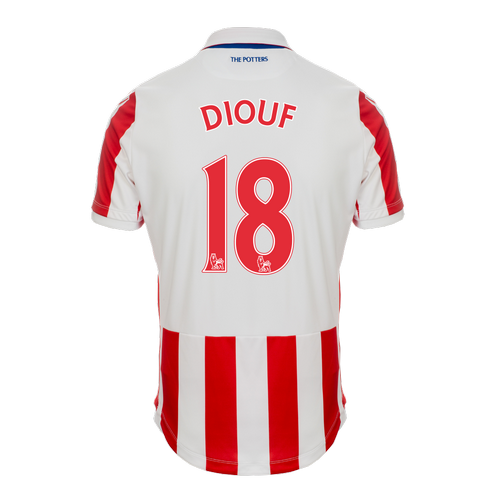 2016-17 Ladies Fit SS Home Shirt - Diouf