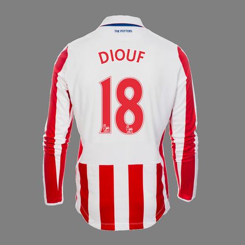 2016-17 Adult Home LS Shirt - Diouf