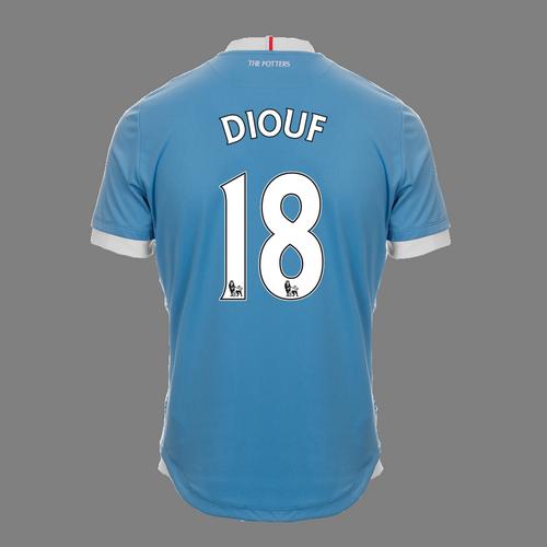 2016-17 Ladies Fit SS Away Shirt - Diouf