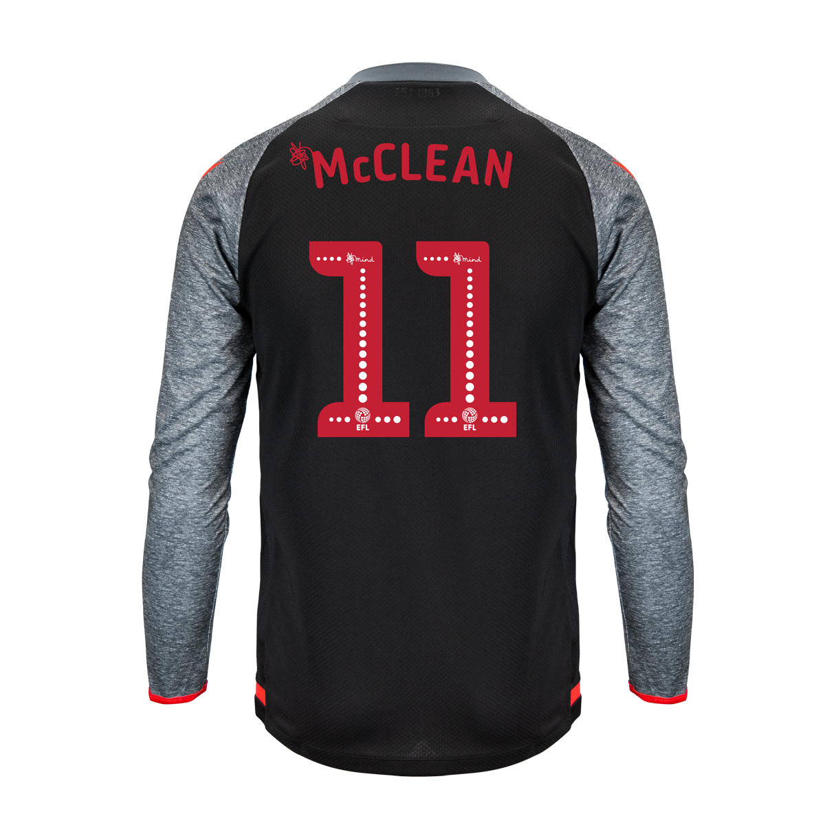 2019/20 Junior Away LS Shirt - McClean
