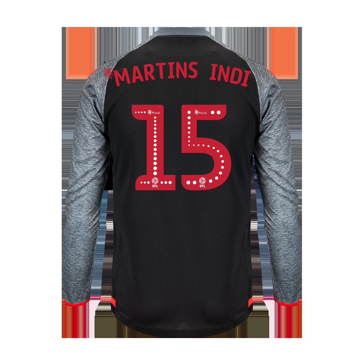 2019/20 Junior Away LS Shirt - Martins Indi