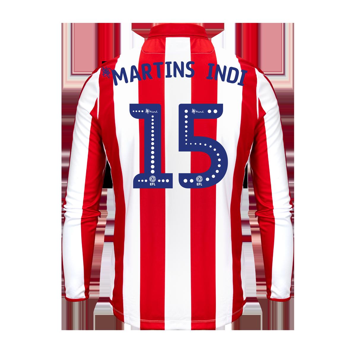 2019/20 Junior Home LS Shirt - Martins Indi