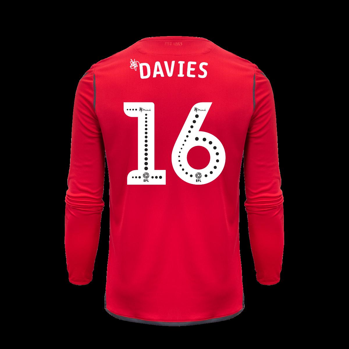 2019/20 Junior Away GK Shirt - Davies
