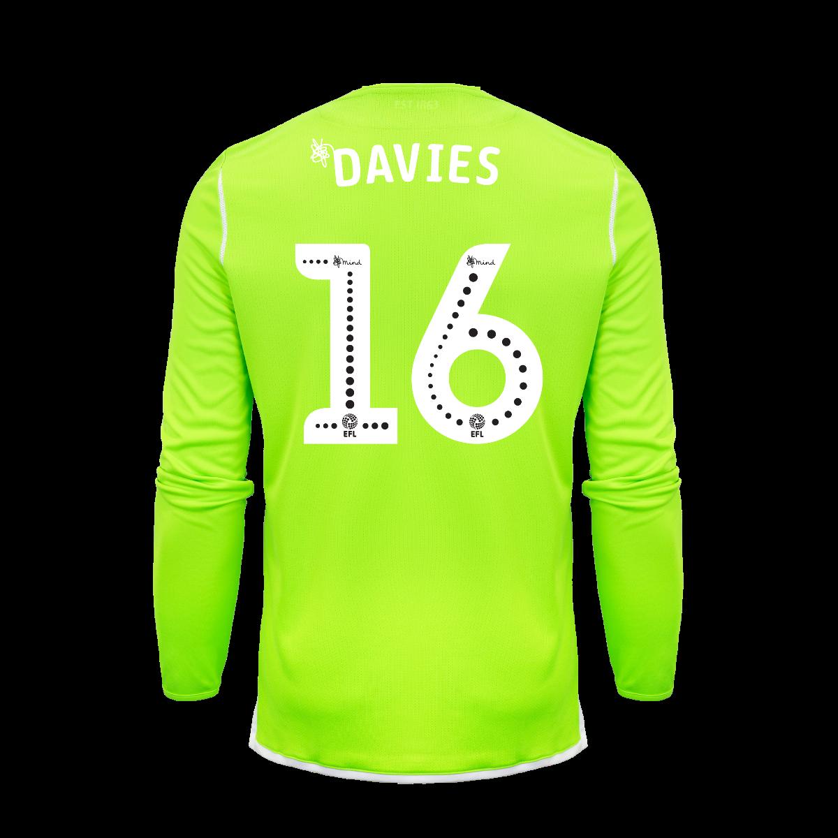 2019/20 Junior Home GK Shirt - Davies