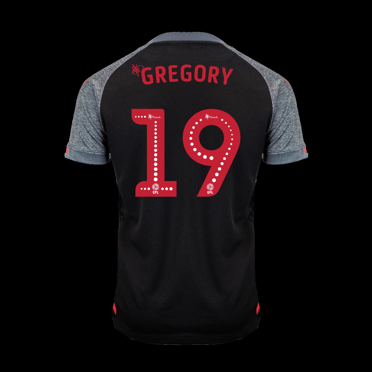 2019/20 Junior Away SS Shirt - Gregory