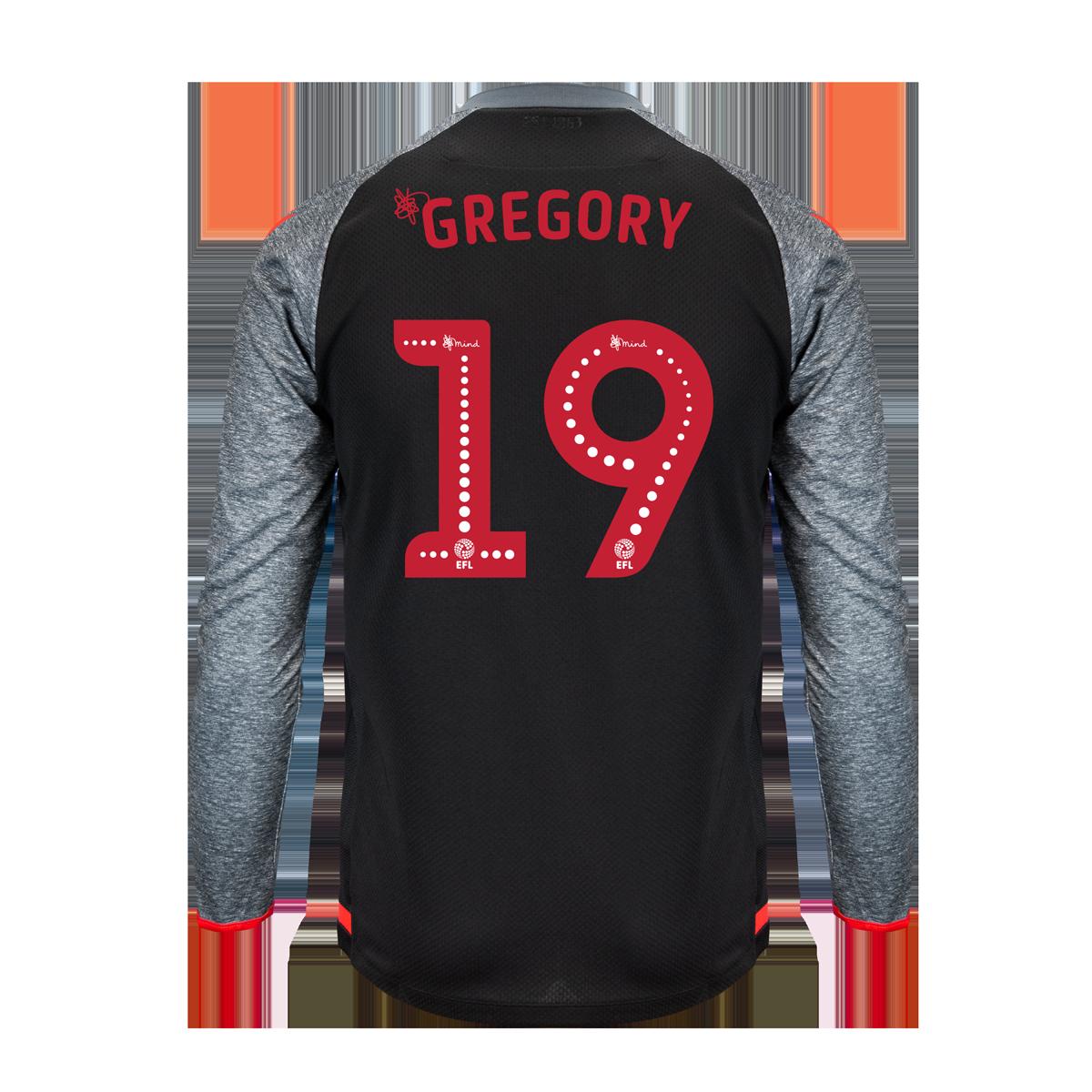 2019/20 Junior Away LS Shirt - Gregory