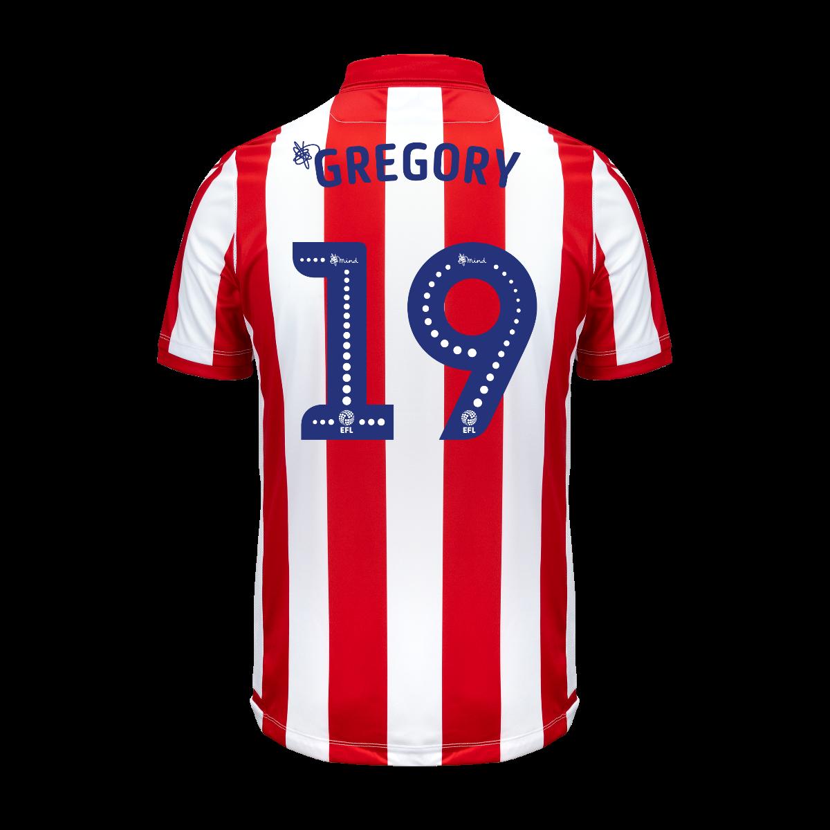 2019/20 Junior Home SS Shirt - Gregory