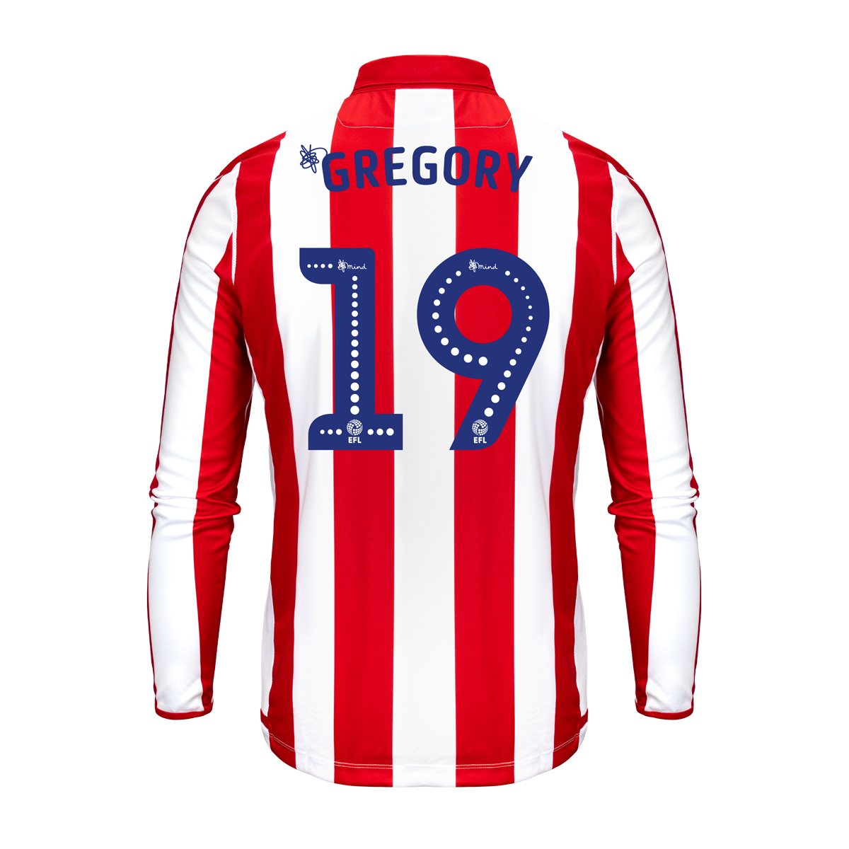 2019/20 Adult Home LS Shirt - Gregory
