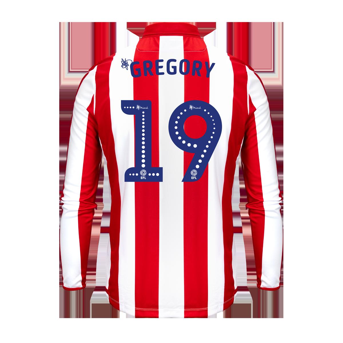 2019/20 Junior Home LS Shirt - Gregory