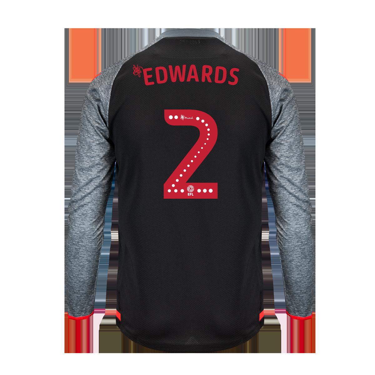 2019/20 Junior Away LS Shirt - Edwards