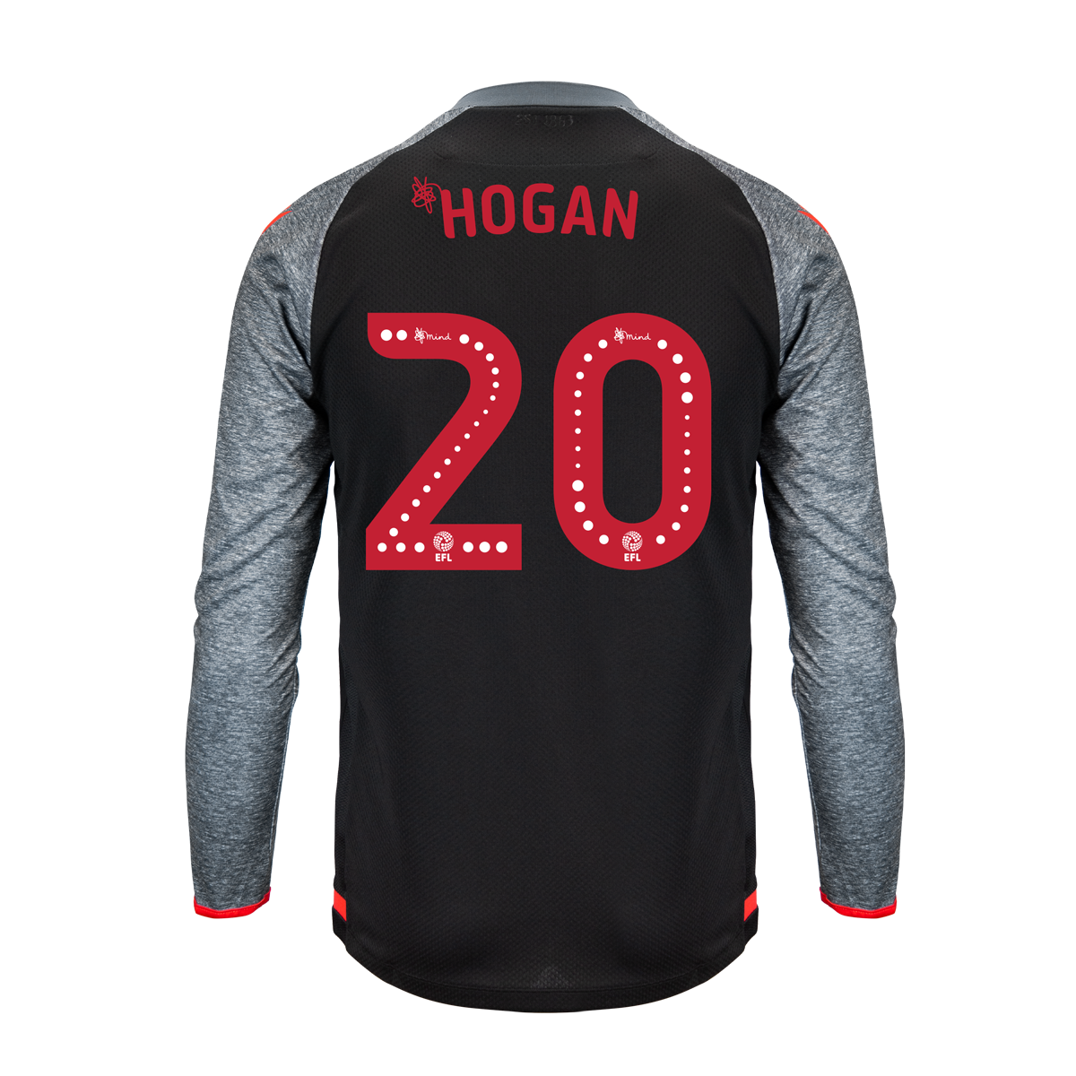 2019/20 Junior Away LS Shirt - Hogan