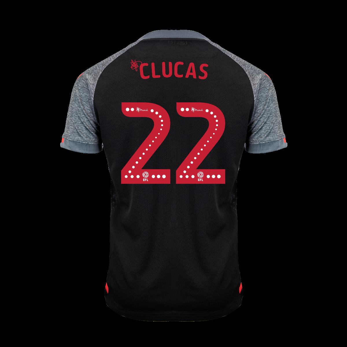 2019/20 Junior Away SS Shirt - Clucas