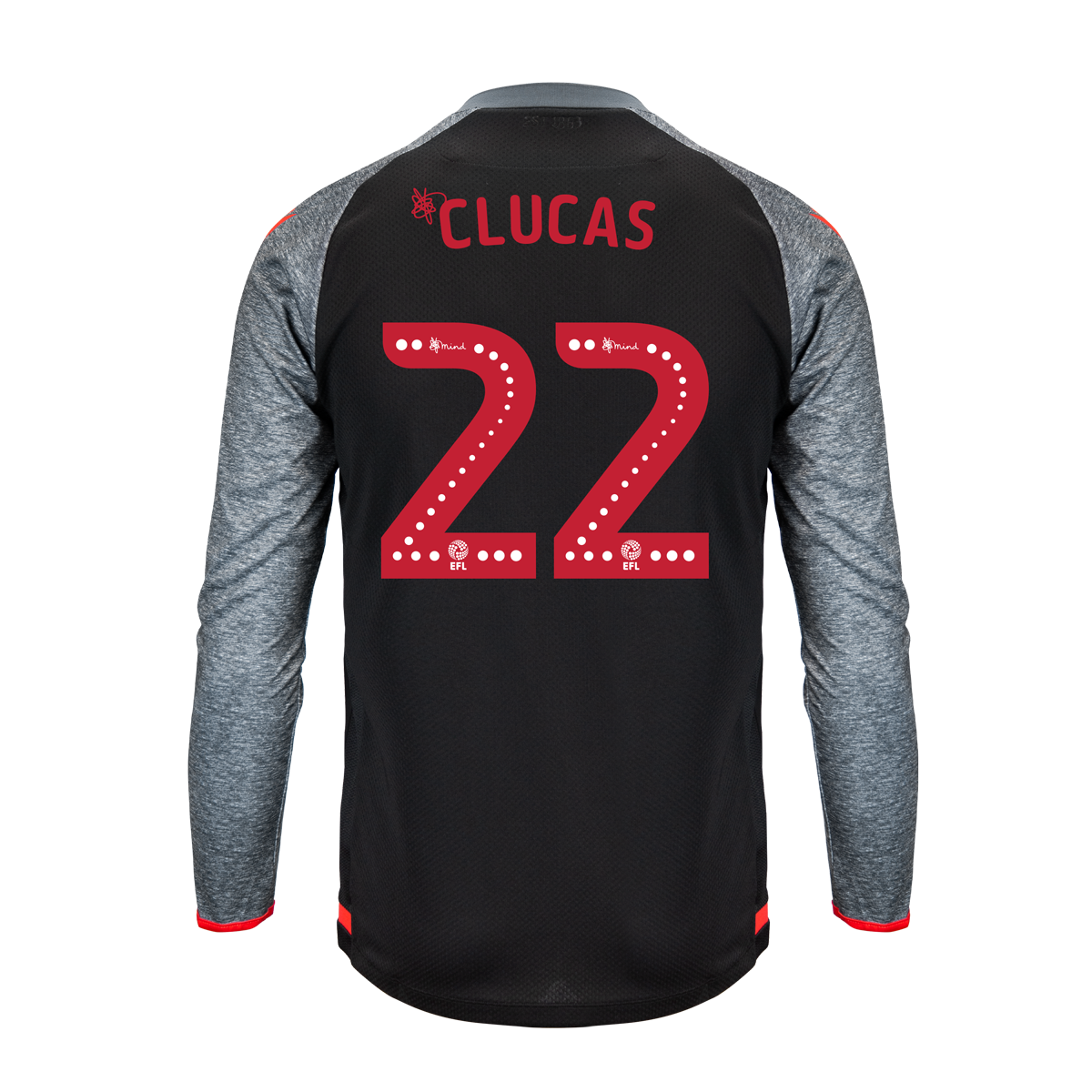 2019/20 Junior Away LS Shirt - Clucas