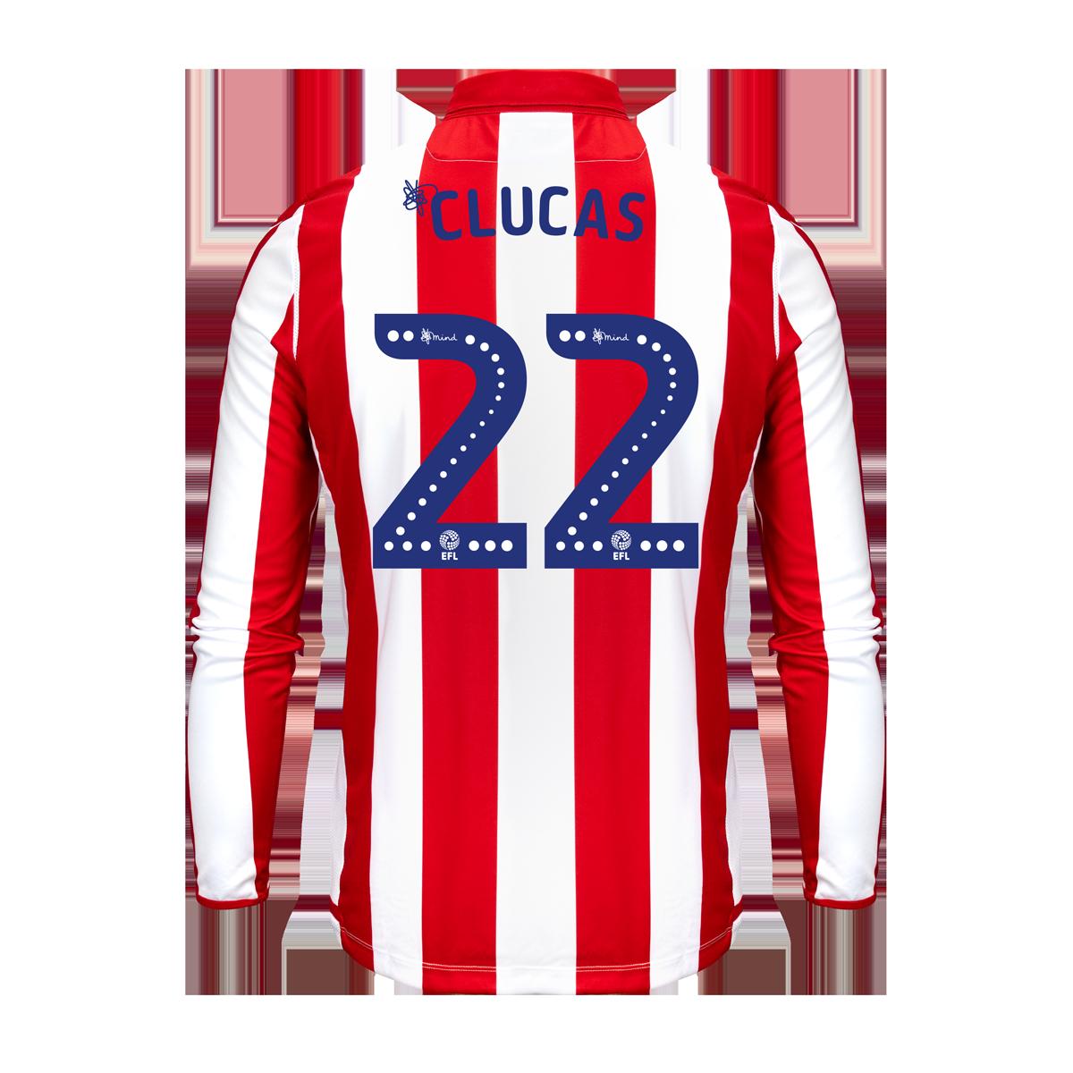 2019/20 Junior Home LS Shirt - Clucas
