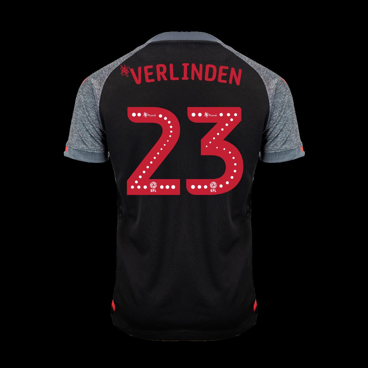 2019/20 Junior Away SS Shirt - Verlinden