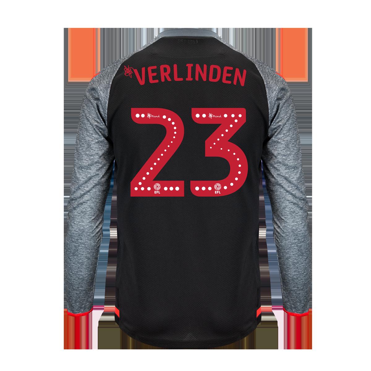 2019/20 Junior Away LS Shirt - Verlinden