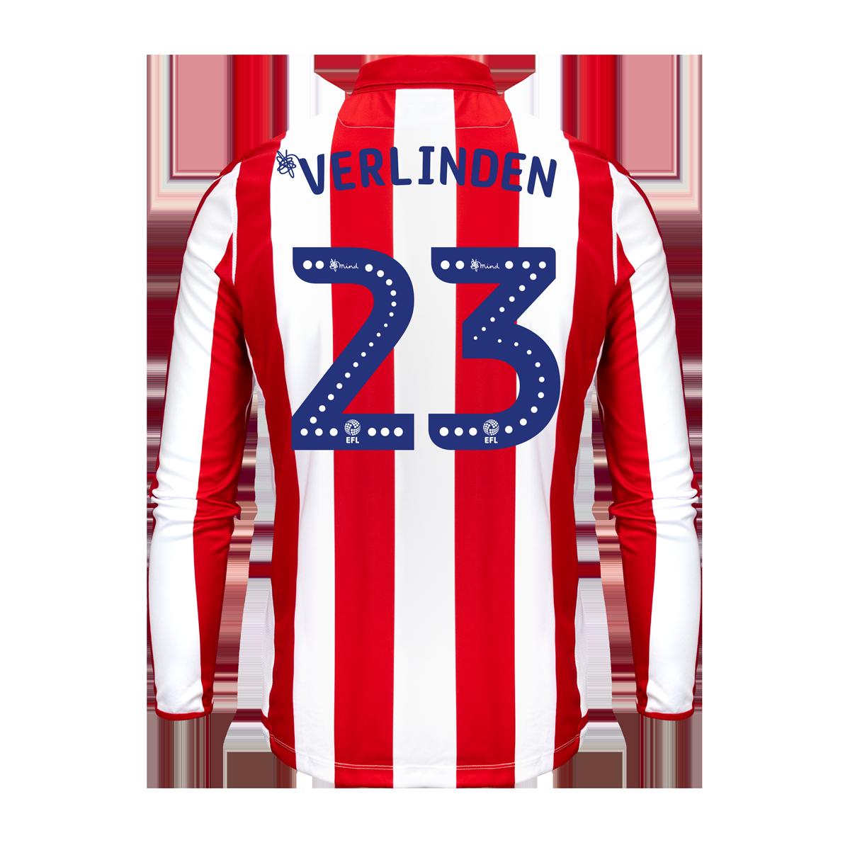 2019/20 Junior Home LS Shirt - Verlinden